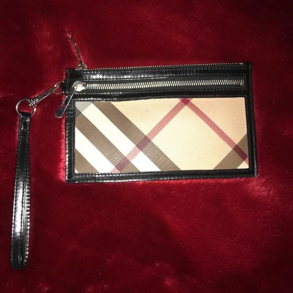 1fdba855f29b Burberry Handbags - Burberry Brit Check Coin Wristlet